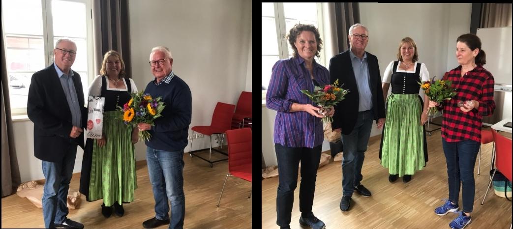 Neuwahlen bei der Nachbarschaftshilfe Kolbermoor – Dr. Ute Lellig und Dr. Susanne Kustermann neu im Vorstand